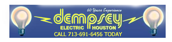 dempsey electric houston logo